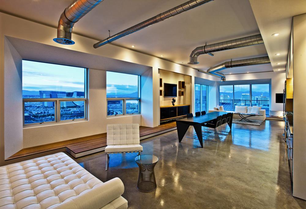 VLADIMIR RADUTNY ARCHITECTS Chicago Architecture Design View Vegas Loft