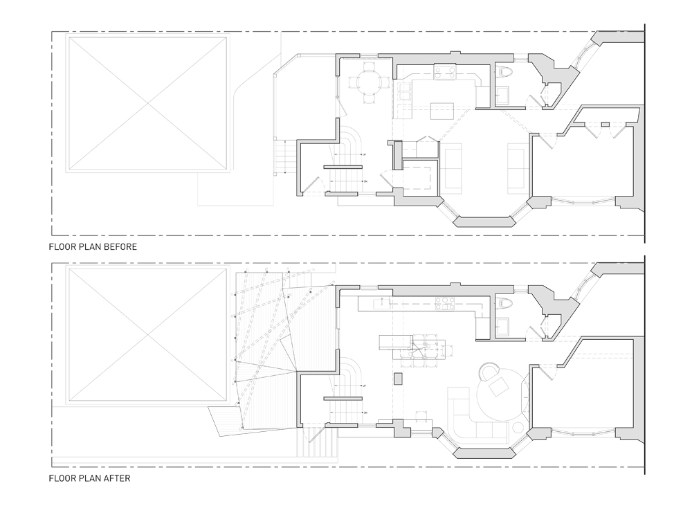 Floor Plans of Main Level