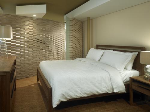 View of Bedroom © Nathan Kirkman