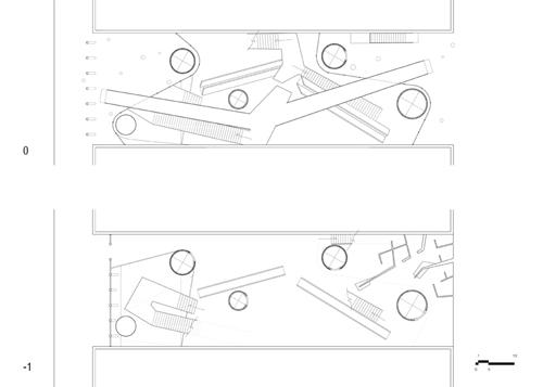 Floor Plans:  Street Level Plans