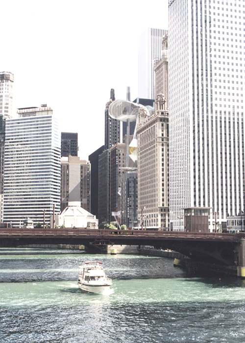 Exterior View from the Chicago River