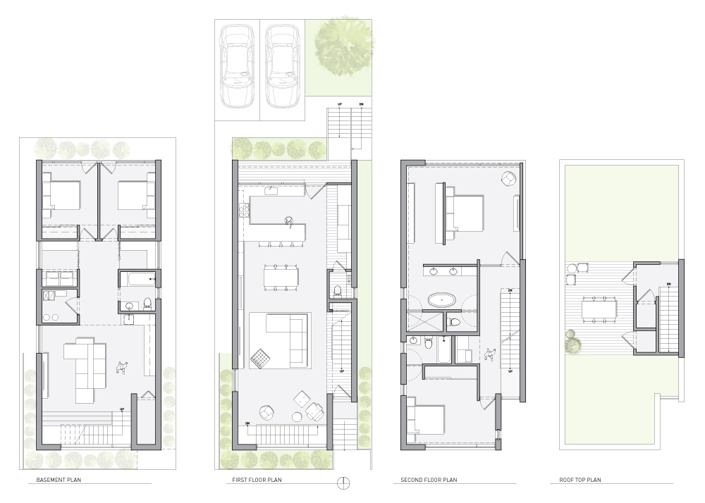 Wabansia Residence | Vladimir Radutny Architects on chicago theater seating layout, chicago brownstone floor plans, chicago loft floor plans, london row houses floor plans,