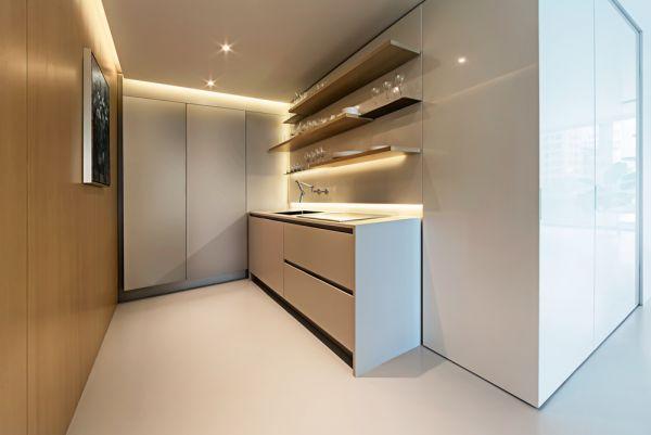 View of Kitchen © Bill Zbaren