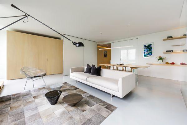View of Living Space © Bill Zbaren