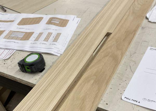 Millwork Details Mock Up
