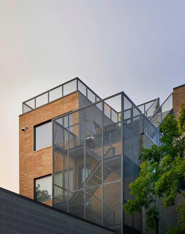North facade © Mike Schwartz
