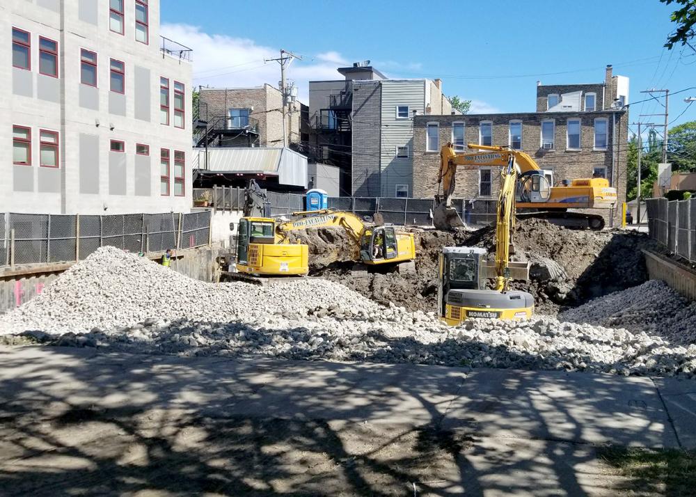 Construction: Excavation